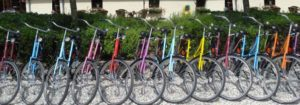 oma fietsen